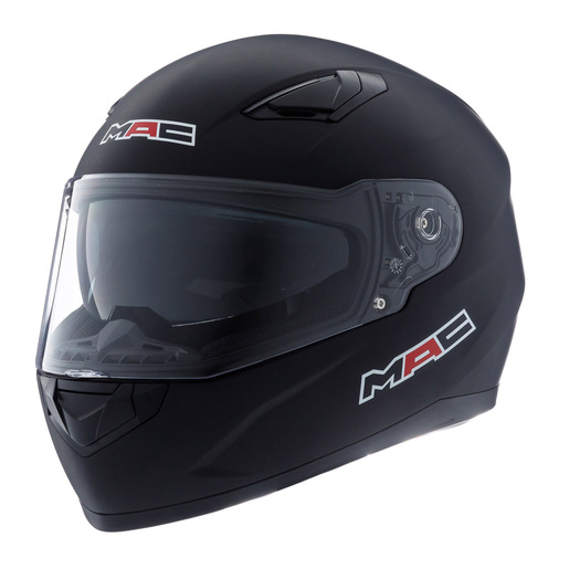 CASCO MAC FENIX SOLID MATT GLOSS - BLACK