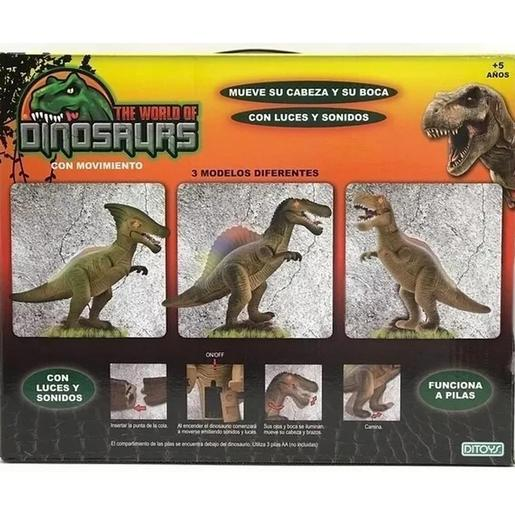 2113 THE WORLD OF DINOSAURS