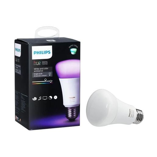 LAMPARA PHILIPS E27 HUE WHITE/COLORS 9.5W LED