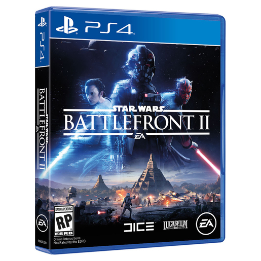 JUEGO PS4 STAR WARS BATTLEFRONT II