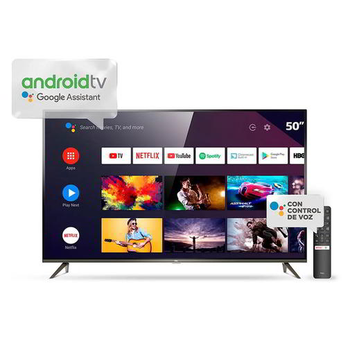 SMART TV 50 TCL P8M 4K ANDROID TV HDMI USB