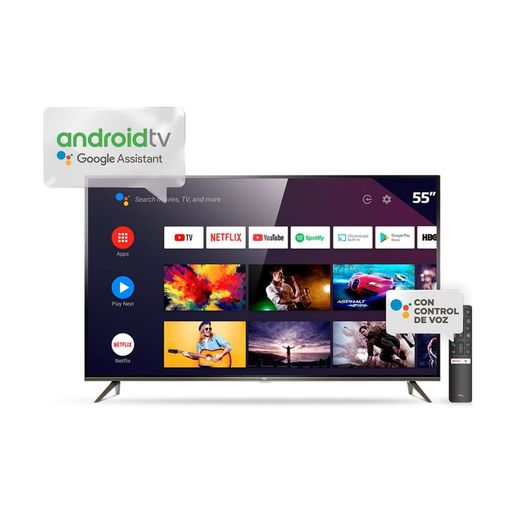 SMART TV 55 TCL P8M 4K ANDROID TV HDMI USB