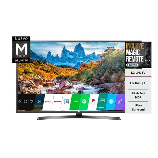 SMART TV 60 LG UM7270 4K UHD BT 3 HDMI 2 USB