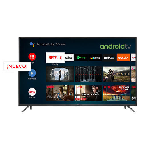 SMART TV 65 RCA X65ANDTV ANDROIDTV 4K CTRL/VOZ