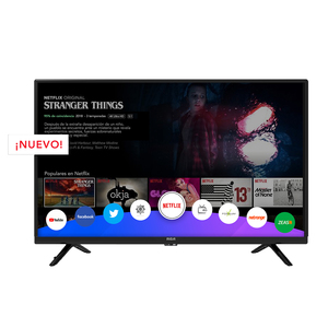 SMART TV 39 RCA 39XSM HD HDMI USB DEC.DIG