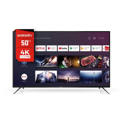"SMART TV 50"" HITACHI 4K Q.CORE ANDR C/VO CDH-LE50"