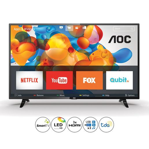 "SMART TV 32"" AOC HD USB HDMI S5295/77G"