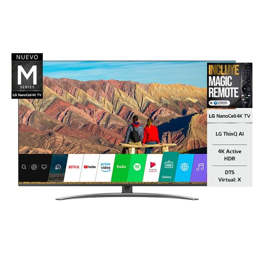 SMART TV 65 LG SM8100 4K NANO CELL HDR BT USB