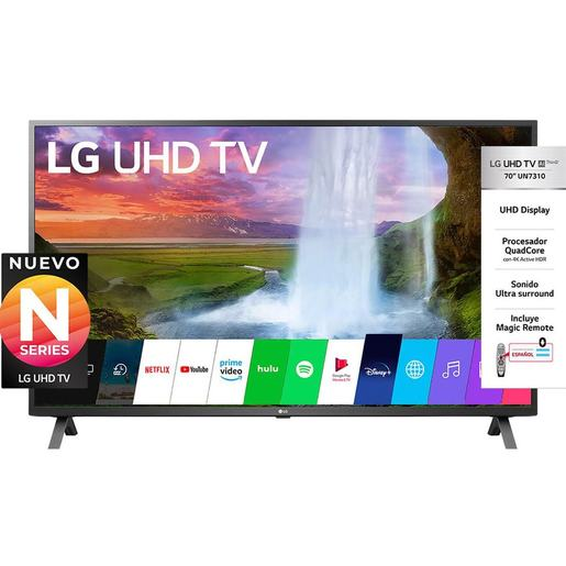 "SMART TV LG REAL 70"" UHD 4K 70 UN7310"