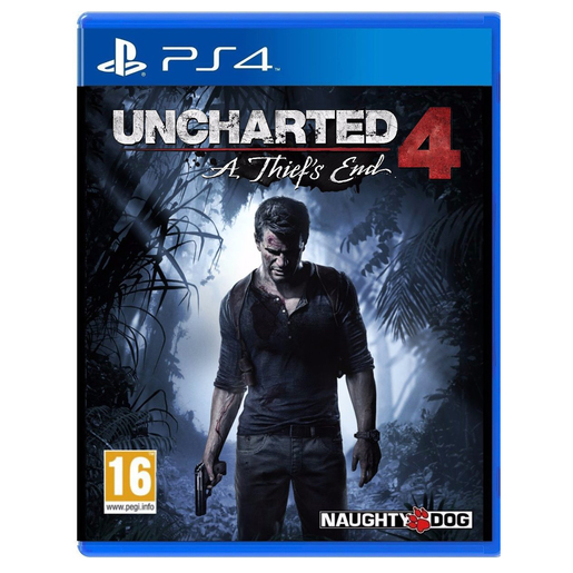 JUEGO PS4 UNCHARTED 4 THIEF´S END